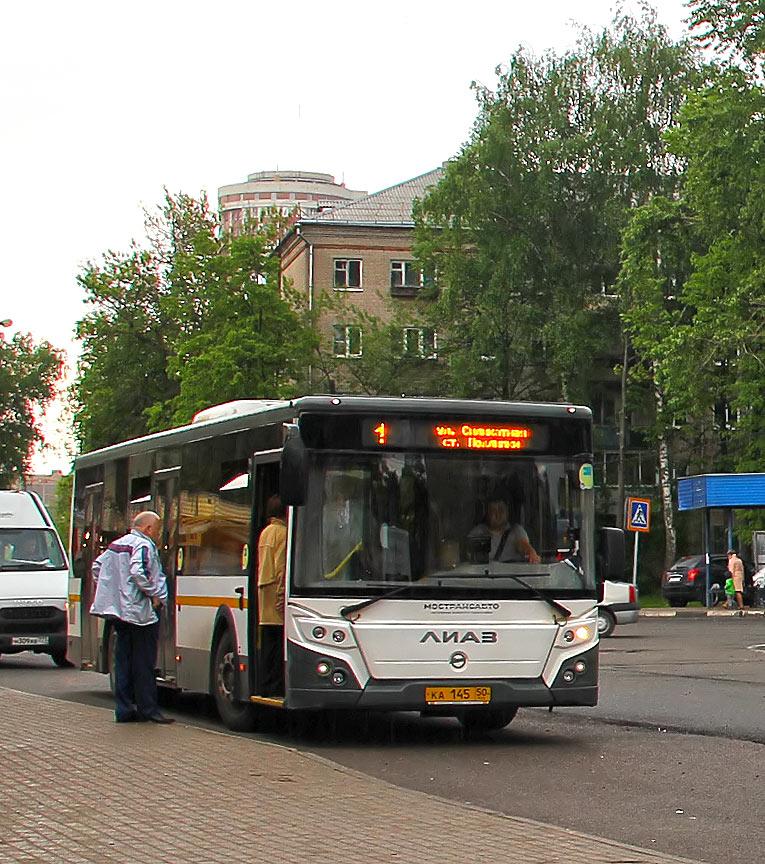 Маршрут автобуса 23 на карте Москвы