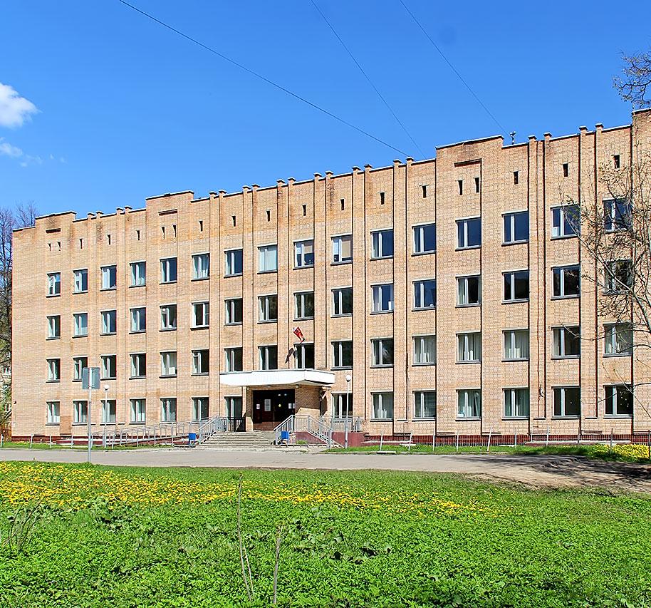 Куровское больница в лесу